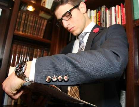 Interchangeable Suit Buttons
