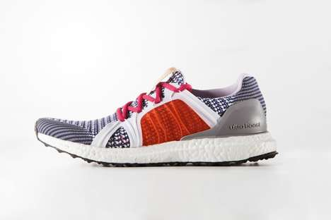 Knitted Co-Branded Sneakers - Stella McCartney Has Teamed with Adidas for a New Ultra Boost Sneaker