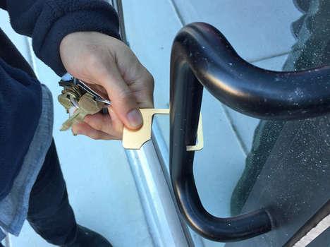 Door Handle-Avoiding Keychains