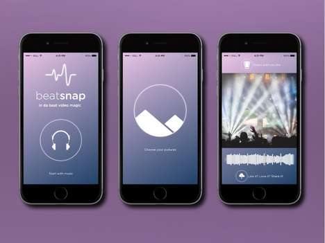 Synchronized Music Slideshows - Slideshow Music App Beatsnap! Perfectly Matches Pictures to the Song
