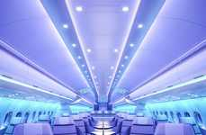 Modernized Airplane Cabins - The 'Airspace by Airbus' Cabin is Designed Around Comfort and Ambiance