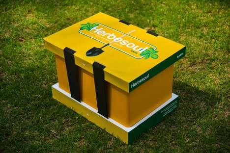 Dual-Packaging Herb Kits