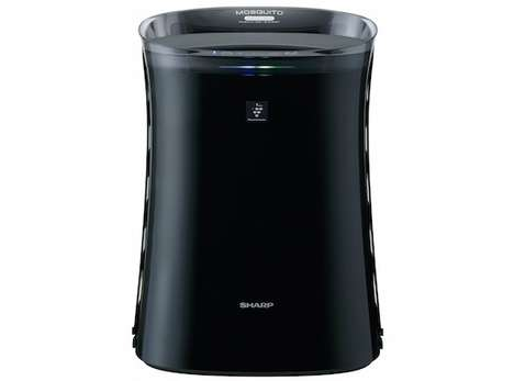 Insect Repellant Air Purifiers - The Sharp Plasmacluster Mosquito Catcher Wards Off Unwanted Bugs