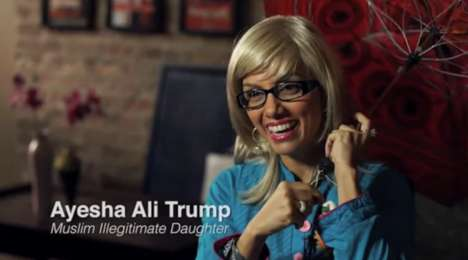 Comical Presidential Mockumentaries - Comedian Fawzia Mirza Imagines Trump Has a Muslim Daughter