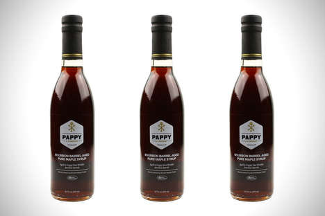 Aged Bourbon Maple Syrups