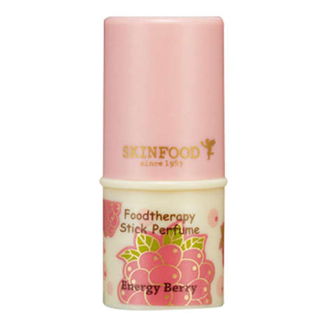 Solid Aromatherapy Perfumes - Skinfood's 'Foodtherapy' Stick Perfumes Uplift the Mind and Body