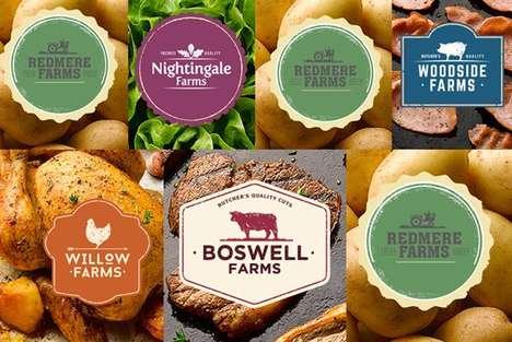 Farm-Inspired Product Branding