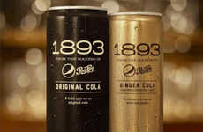 Millennial-Targeted Soda Lines - The 1893 Cola Line Celebrates Pepsi's History