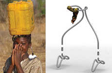 Cranial Carriage Contraptions - The Head Loading Halo Facilitates Ergonomic Transportation of Water