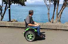Intuitive Ergonomic Wheelchairs