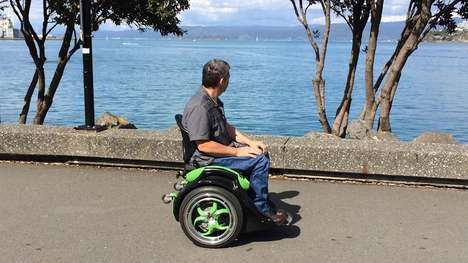 Intuitive Ergonomic Wheelchairs - The 'Ogo' Wheelchair Design Doesn't Require Users to Use Arms