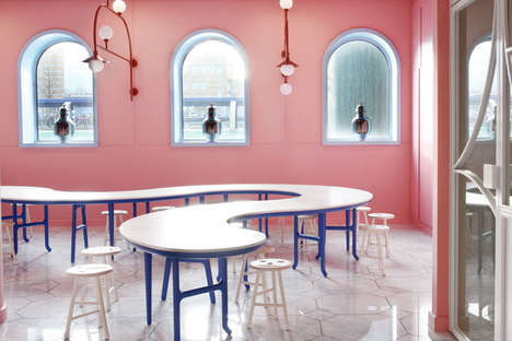 Vibrant Family Activity Centers - The Family Lab at the Groninger Museum is Designed for Events