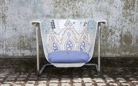 Upcycled Bathtub Chairs
