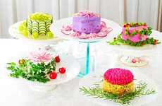 Deceiving Dessert Cafes - Vegedeco Salad Cafe will Offer Patrons Salad Cakes instead of Sweets