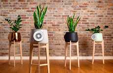Natural Plant Air Purifiers - The 'Clairy' Natural Air Purifier Merges Technology and Nature