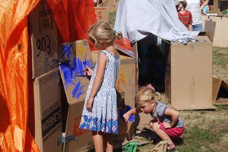 Creativity-Promoting Playgrounds