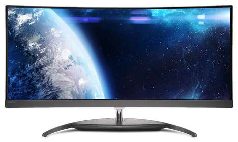 Immersive Entertainment PC Screens