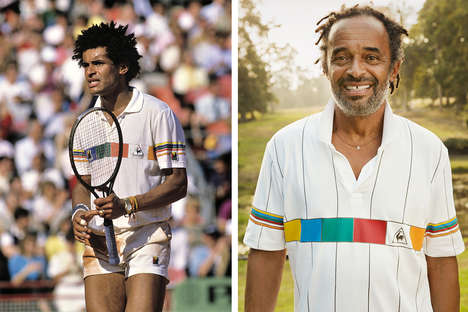 Throwback Tennis Jerseys - Le Coq Sportif Will Rerelease the Polo Noah for the 2016 French Open