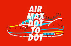 Connect-the-Dots Sneaker Art - These Nike Air Max Day Illustrations Were Made by Michael Coley