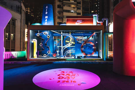 Sneaker Heritage Festival Venues - The Nike Air Max Con Hong Kong Event Shows the Shoe's History