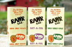 Vegetable-Based Snack Bars - The Rawr Bar Line is Designed to Help Children Eat More Veggies