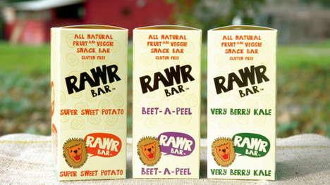 Vegetable-Based Snack Bars