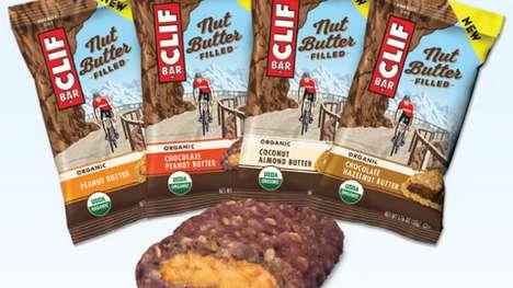 Nut Butter-Filled Bars