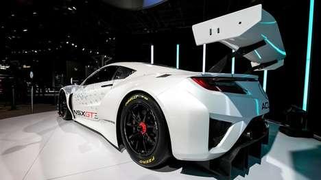 Aerodynamic Track Cars