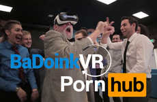 Erotic VR Experiences - Pornhub and BaDoink Are Offering 360-Degree Virtual Reality Porn Content