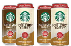 Spiced Coffee Drinks - The Starbucks Doubleshot Energy Coffee Drinks Now Come in Two Spiced Flavors