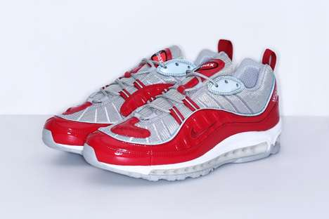 Retro Crossover Sneakers - The Supreme x Nike Air Max 98 Sneakers Promote Stylish Nostalgia