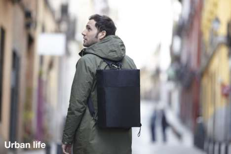 Multi-Purpose Transforming Bags - The OWLBAG Changes Shape to Meet Your Every Need