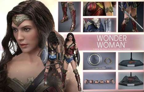 Amazonian Action Figures - This Wonder Woman Action Figure is Ridiculously Realistic