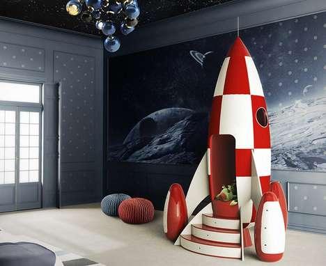 Imaginative Rocket Armchairs