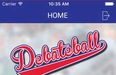 Sporting Debate Platforms - Debateball Turns the 2016 Presidential Election into a Baseball Game