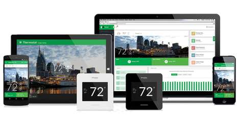 Comfort-Focused Thermostats - The Schneider Electric Wiser Air Smart Thermostat Control is Smart