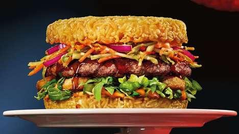 Ramen-Based Burger Buns