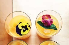 Spicy Floral Cocktails
