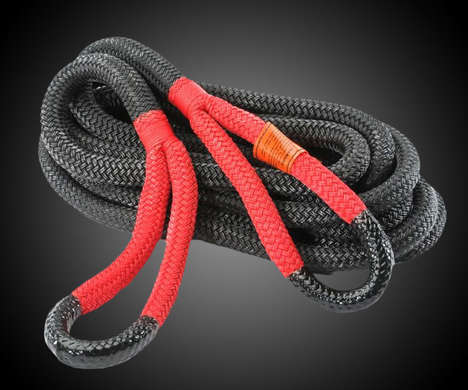 Kinetic Vehicle Ropes - The Bubba Rope is Harnesses the Power of Motion for Rugged Year-Round Use