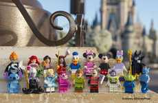 Building Block Disney Characters - The Disney LEGO Turns the Classic Characters into Toy Figurines