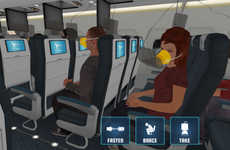 Simulated Aircraft Safety Apps - Prepare for Impact Readies Passengers for Potential Accidents