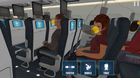 Simulated Aircraft Safety Apps