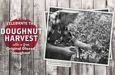 April Fools Doughnut Giveaways - This Chain is Celebrating the Doughnut Harvest on April Fools Day