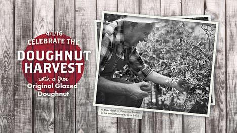 April Fools Doughnut Giveaways