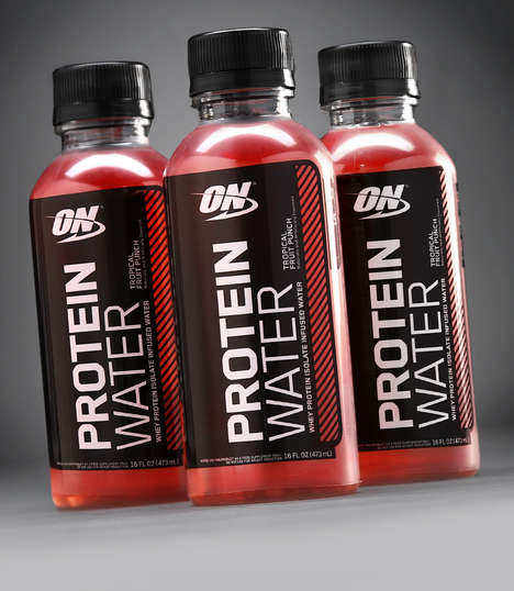 Protein-Enriched Waters - The 'ON Protein Water' Range Supports Muscle Growth and Recovery