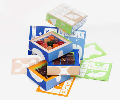 Edible Board Games - These Snack Boxes are Inspired by Retro Games and Puzzles