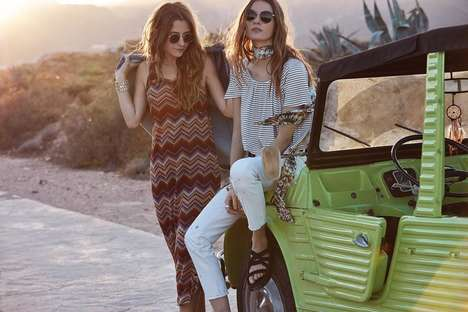 Budget Bohemian Fashion - Mango's Low-Cost #NewPrices Collection Appeals to Millennials