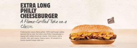 Savory Elongated Cheeseburgers