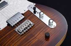 Versatile Hybrid Guitars - The Hybrid 55 Lets Guitarists Blend Acoustic and Electric Tones