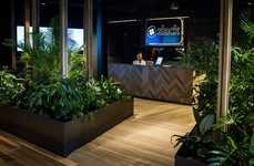 Brooding Forest Office Designs - The Slack Melbourne Office Focuses on Concentration and Tranquility